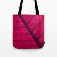 leaf Tote Bags featuring leaf by Claudia Drossert