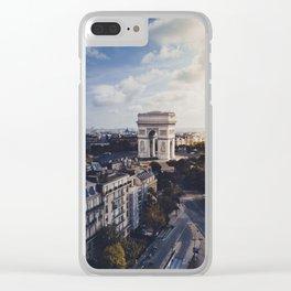 Arc De Triomphe, Paris Clear iPhone Case