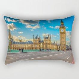Big Ben Westminster Rectangular Pillow