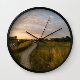 Pointe de Perihardy Wall Clock