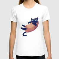 nan lawson T-shirts featuring Blue Eyes by Nan Lawson