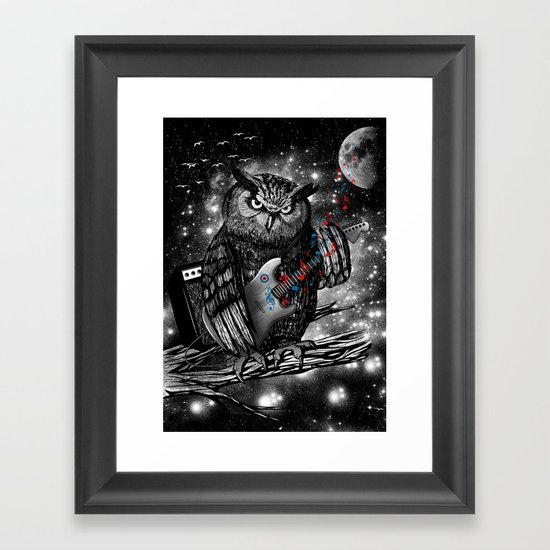 The Hoo Framed Art Print