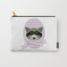 Mevrouw Raccoon Carry-All Pouch
