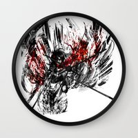 snk Wall Clocks featuring Ackerman by ururuty
