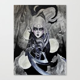 Scorn of the Moon Canvas Print