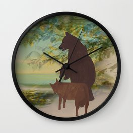 PALS FOR LIFE Wall Clock