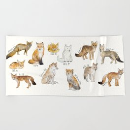 Foxes Beach Towel