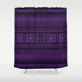 The Gathering (Purple) Shower Curtain