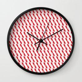 Nautical Liferings Wall Clock