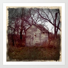 Outhouse I Art Print