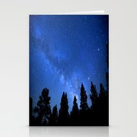 milky way Stationery Cards featuring Milky Way by 2sweet4words Designs