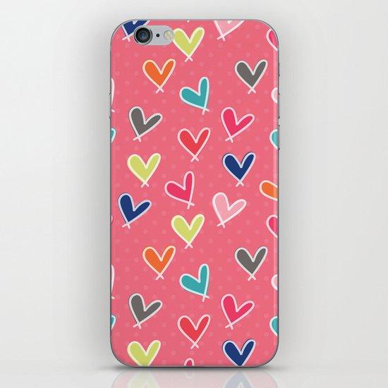 Blow Me One Last Kiss - Pink iPhone & iPod Skin