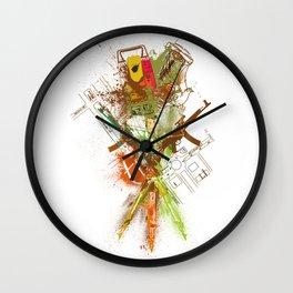 theodolite Wall Clock