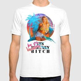 Islandney White Back T-shirt