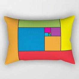 Fibonacci Patern Rectangular Pillow