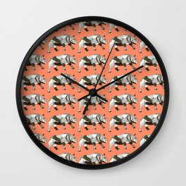 Run with the Rhinos Wall Clock