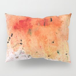 Red Abstract Art - Taking Chances - By Sharon Cummings Pillow Sham