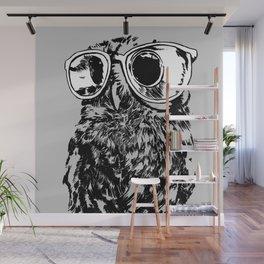 Geek Owl Wall Mural