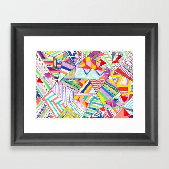 CIRCUS -C A N D Y- POP Framed Art Print