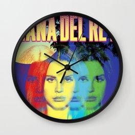 lana del ray rainbow 2021 Wall Clock