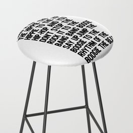 RAPPERS DELIGHT Hip Hop CLASSIC MUSIC Bar Stool