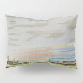 Landscape clouds Pillow Sham