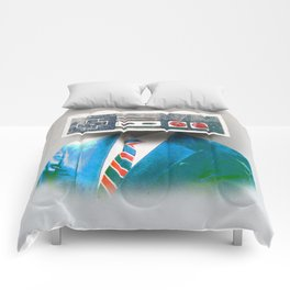 Faces of the Past Console alt_no stripes Comforters