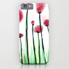 Poppies iPhone 6s Slim Case