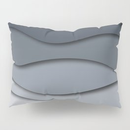 Abstract wavy design Pillow Sham