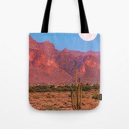 Desert Moon Tote Bag
