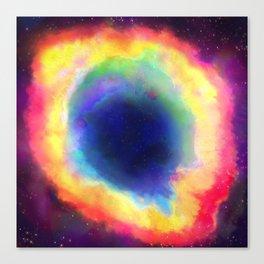 Donut Nebula Canvas Print