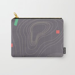 Map land color pattern Carry-All Pouch