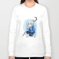 jack frost Long Sleeve T-shirts featuring Jack Frost by noCek