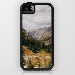 The View from Above 10,000 ft - Wyoming Wilderness iPhone Case