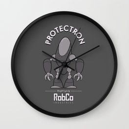 Protectron Wall Clock