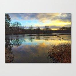 Winter at Caleb Smith part 2 Canvas Print