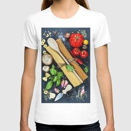 Italian ingredient T-shirt