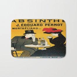 Vintage poster - Absinthe Bath Mat