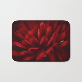 Red on Red Bath Mat