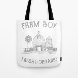 Cool Farmers Farmboy Fresh Organic Farm Life Planting Tote Bag