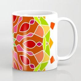 Vintage Mandala Flower Coffee Mug