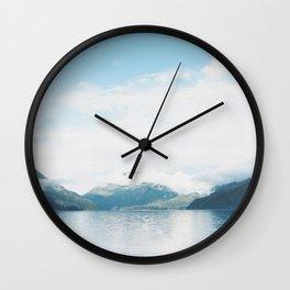 Lake in the Sky Wall Clock