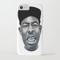 tyler the creator iPhone & iPod Cases featuring IFHY (Tyler the creator) by Black Neon