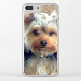 Always Thinking of You... | Yorkie | Dogs | Nadia Bonello Clear iPhone Case