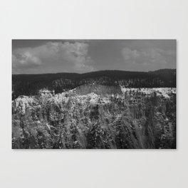 Deep Cold Canvas Print