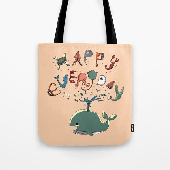 Happy Everyday Tote Bag