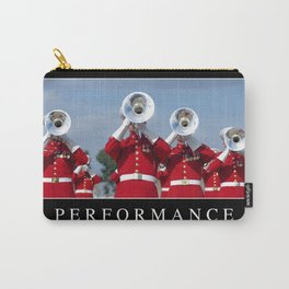 Performance: Inspirational Quote and Motivational Poster Carry-All Pouch