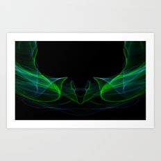 Light Motion Series II: 3 Art Print