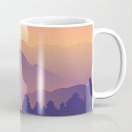 Sunrise Mountain Peaks Coffee Mug