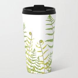 Ferns and Fiddleheads Travel Mug